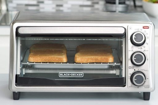 Black+Decker TO1303SB 4 Slice Toaster Oven